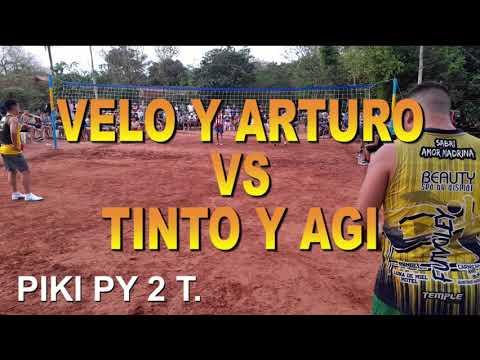 Velo y Arturo Vs Agi y Tinto. Piki py a 2 Toques. FUTVOLEY. FOOTVOLLEY. FUTEVOLEI.