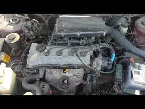 Nissan Almera 1998 m dalys