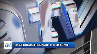 Quinta jornada para consensuar ley de emergencia y  reapertura económica por pandemia covid-19.