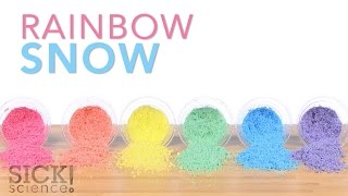 Rainbow Snow - Sick Science! #221