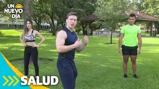 Rutina de ejercicios que ayuda a mejorar el humor | Un Nuevo Día | Telemundo