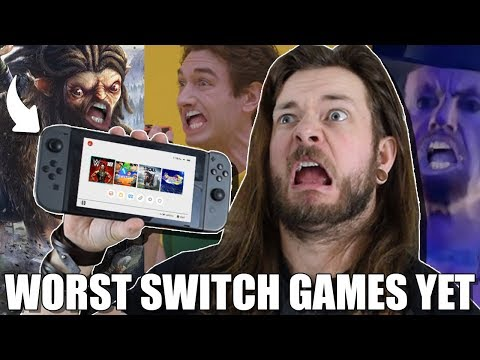 10 WORST NINTENDO SWITCH GAMES SO FAR