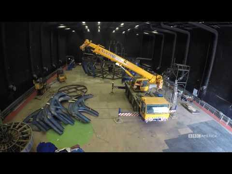 TARDIS Time Lapse Deconstruction | Doctor Who | BBC America