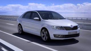 Skoda Mission L On road