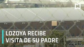 Emilio Lozoya recibe visita de su padre en España - Noticias MX