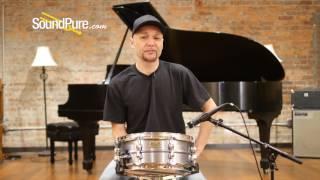 Tama 5.5x14 SLP Classic Dry Aluminum Snare Drum Quick n' Dirty
