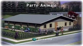 The Sims 1 Gamecube Walkthrough Part 3 - Party Animals!