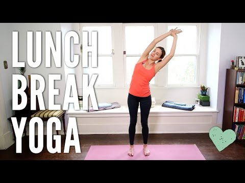 Yoga on your lunch break