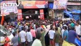 Coronavirus Vaccination: Long Queue At Vaccination Centre In Mumbai's Dharavi - NDTV