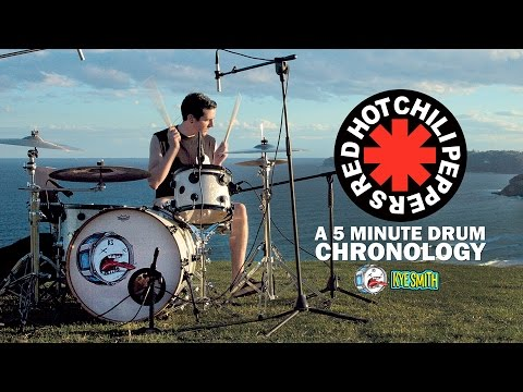 connectYoutube - Red Hot Chili Peppers: A 5 Minute Drum Chronology - Kye Smith [4K]