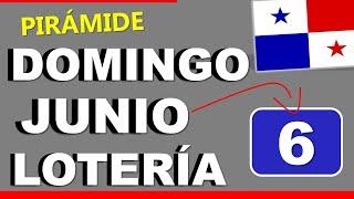 Piramide Suerte Decenas Para Domingo 6 de Junio 2021 Loteria Nacional Panama Dominical Comprar