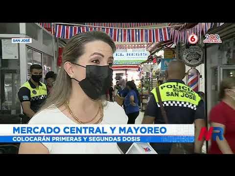 Mercados de San José tendrán vacunatón este fin de semana