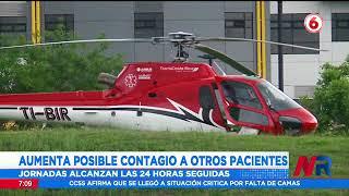 42 personas positivas a Covid 19 se quedaron sin camas en el hospital de Heredia