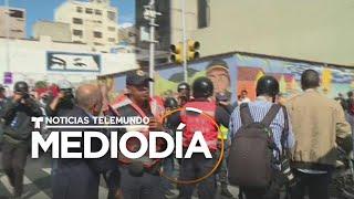 Nuevo episodio violento en el palacio legislativo de Venezuela   Noticias Telemundo