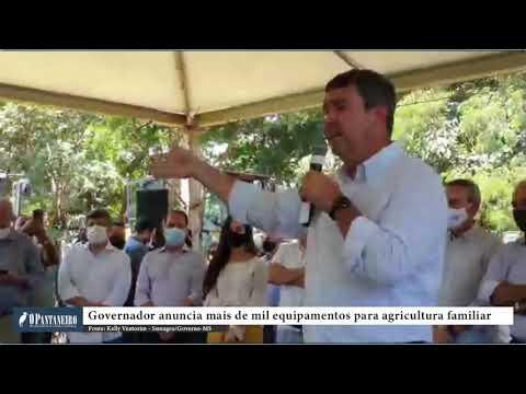 Governador anuncia mais de mil equipamentos para agricultura familiar
