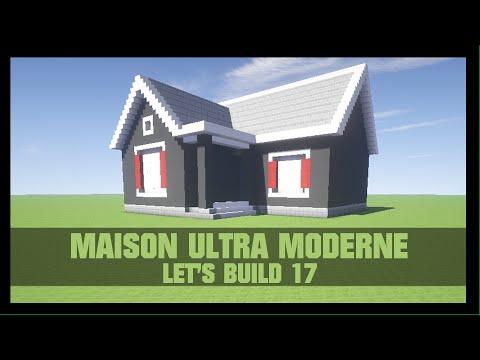 Stunning maison de luxe moderne minecraft tuto contemporary