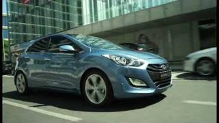 Hyundai i30-propelling fluidic model