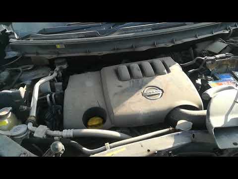 Nissan X-Trail 2007 m dalys