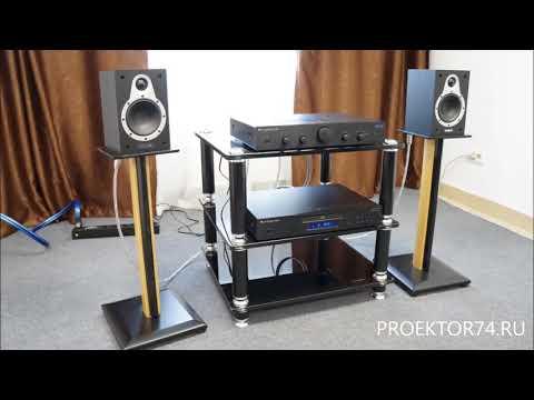 Прослушивание полочной акустики Tannoy Eclipse Mini + Cambridge Audio Topaz AM5 + CD5