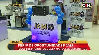 Feria de oportunidades JAM en Tupi Electrodomésticos
