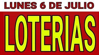 Resultado de las loterías del Lunes 6 de Julio de 2020