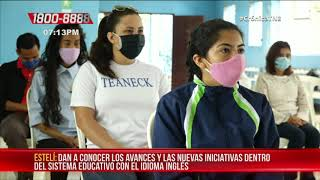 Se realizó primer encuentro municipal de inglés de primaria en Estelí - Nicaragua
