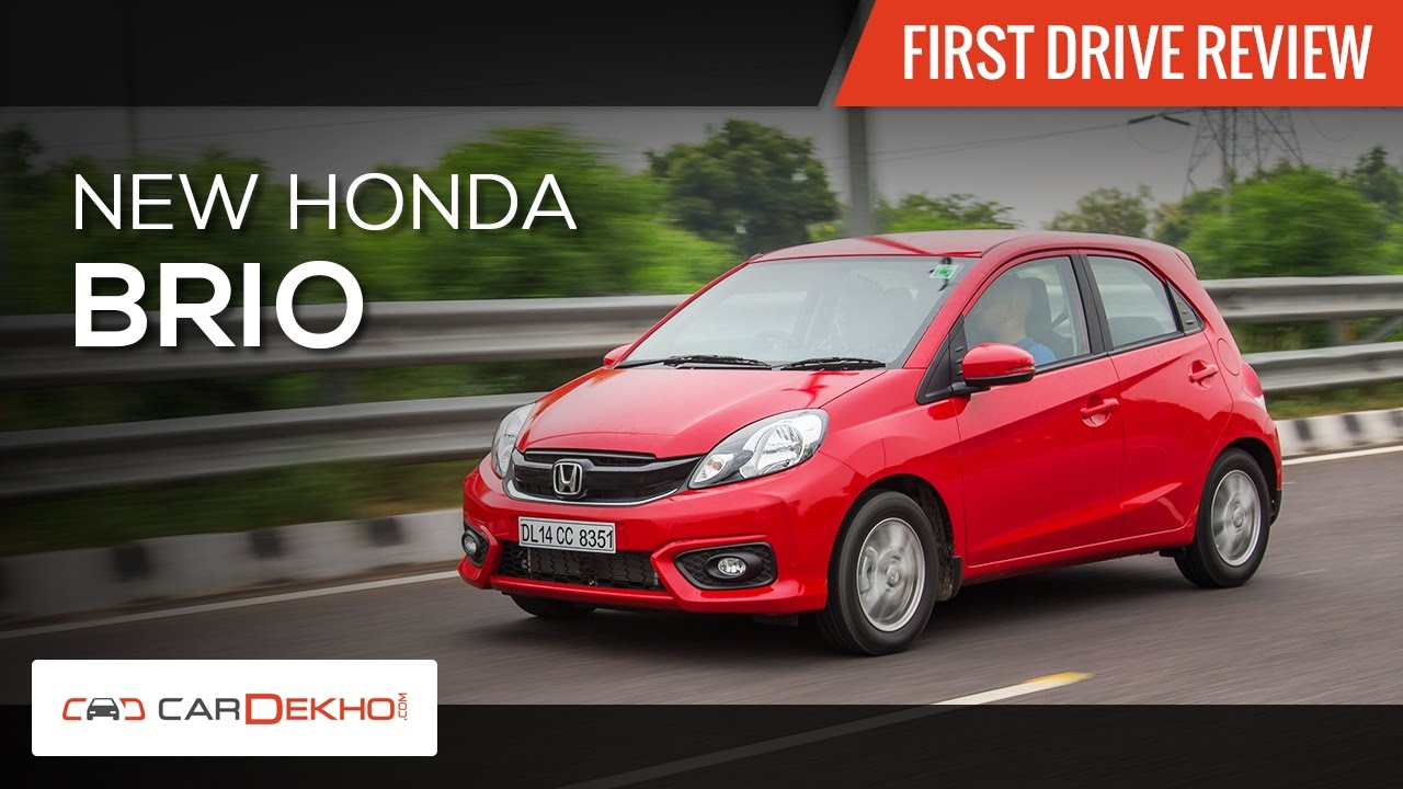2016 Honda Brio Facelift | First Drive Review