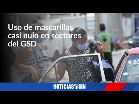 Disminuye uso de mascarilla en sectores del GSD