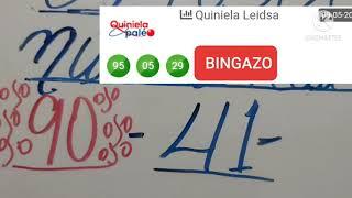 BINGAZO DIRECTO MI GENTE CON EL 95 EN LA QUINIELA PALE ,EL QUE CONFIA GANA, EL PAPA DE ESTA VAINA