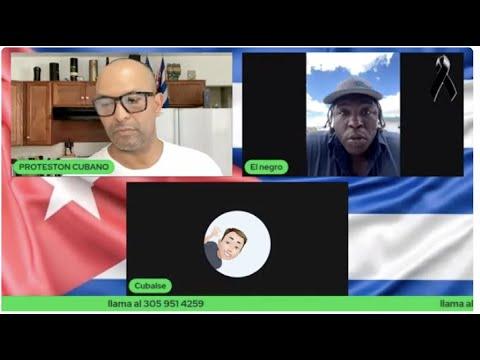 09/14/2021  #ENVIVO CON EL PROTESTÓN CUBANO HABLANDO ENTRE CUBANO