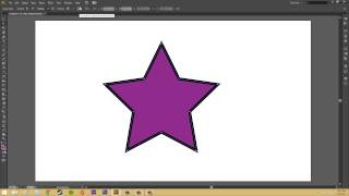 Adobe Illustrator CS6 for Beginners - Tutorial 53 - Cutting, Splitting, and Merging Paths