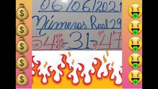 NUMEROS PARA HOY 06/06/2021 DE JUNIO PARA TODAS LAS LOTERIAS