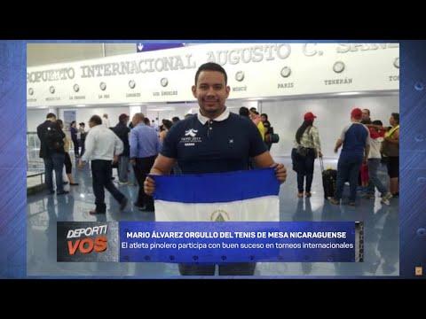 DEPORTIVOS || Mario Álvarez es un orgullo del tenis de mesa nicaragüense