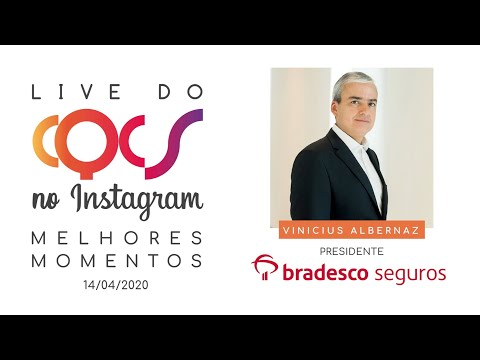 Imagem post: Superação, segurados e sociedade. Confira os melhores momentos da live com Vinicius Albernaz