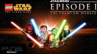 LEGO Star Wars PS2 Walkthrough / Playthrough - Episode I: The Phantom Menace