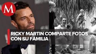 Asi? luce la familia completa de Ricky Martin