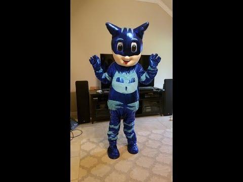 Unboxing PJ Masks Catboy Mascot!