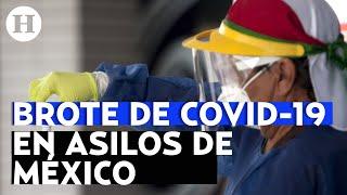 Reportan casos de COVID-19 en asilos de México; reportaje El Heraldo TV