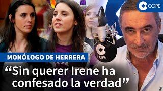 Herrera, sobre Montero: