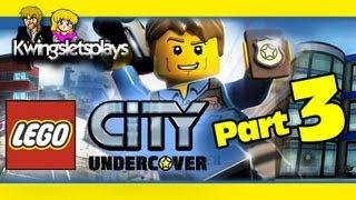 Lego city undercover - Walkthrough Part 3 Chase the Parkour Master