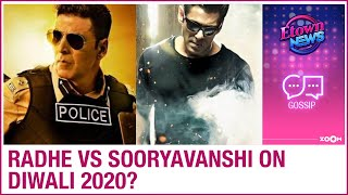 Salman Khan's Radhe to clash with Akshay Kumar's Sooryavanshi on Diwali 2020? - ZOOMDEKHO