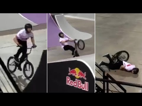 Moment Team GB medallist Declan Brooks nearly saw Olympics dreams dashed in horror BMX accident