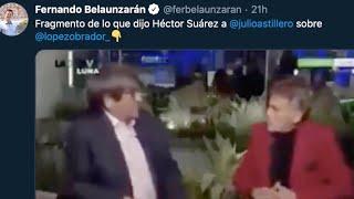 CALDERÓN Y BELAUNZARÁN RESCATAN CRÍTICAS DE HÉCTOR SUÁREZ A AMLO