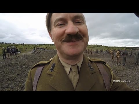 Mark Gatiss Video Diaries | Doctor Who Christmas | BBC America