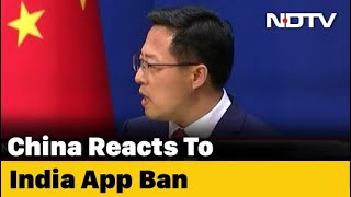 "China Says ""Strongly Concerned"" After India Blocks Chinese Apps - NDTV"