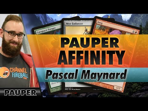 Affinity - Pauper   Channel Pascal
