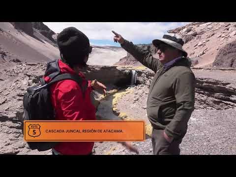 La Ruta Juncal y sus espectaculares cascadas. Ruta 5, 2021.