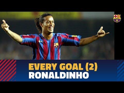BARÇA GOALS | Ronaldinho (2005-2008)