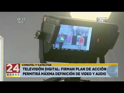 Televisión Digital: Conatel y Catelpar firman plan de acción