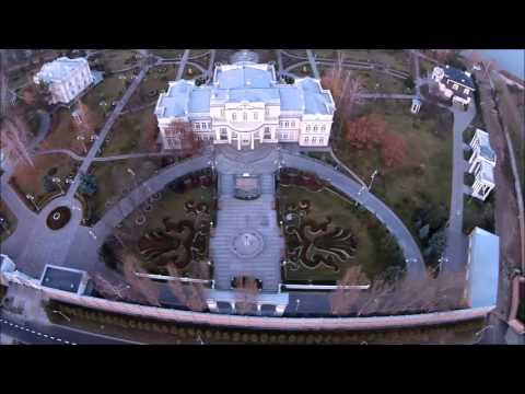 Опубликовано видео роскошного особняка Порошенко под Киевом